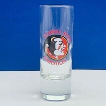 Florida State Seminoles shotglass ncaa college football bar decor shot glass vtg - $9.85
