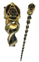 Ebros Occult Caduceus Serpent Elemental Alchemy Magic Wand Cosplay Prop ... - $19.99