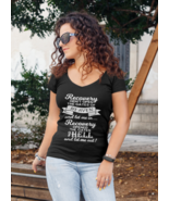 Recovery 12 Steps NA/AA Woman's V Neck T Shirt - $24.99