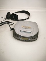 SONY Discman D-191 Portable Personal CD Compact Disc Player w/ MDR-023 Headphone - $19.99