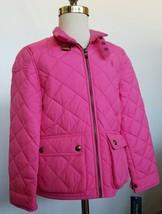 Ralph Lauren Girls Barn Jacket Quilted Pink M /8-10/ NWT - $74.99