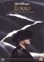 Zorro The Complete First Season Colorized Version DVDs Guy Williams - $45.00