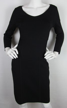 Ralph Lauren Pencil dress Wiggle knee length Bodycon Rayon Black Womens ... - $22.72