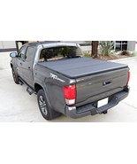 Tri-Fold Hard Tonneau Cover for Toyota Tacoma Double Cab 6ft Bed 2016+ - $524.65