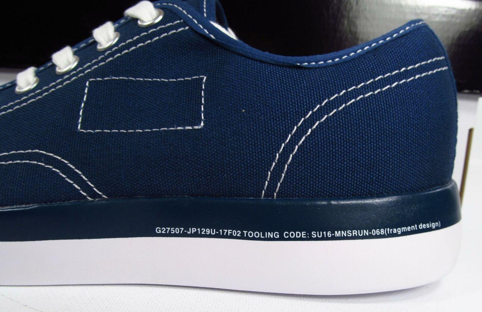 Converse x Fragment Design Jack Purcell JP Modern Ox Navy Blue 160157C Men's 9
