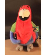 COKE International Bean Bag Plush Parrot Barrot Brazil #0229  EUC  - $7.36