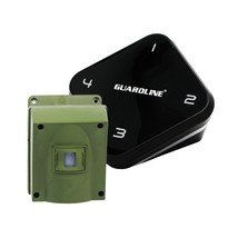 1/4 Mile Long Range Wireless Driveway Alarm Outdoor Weatherproof Motion ... - $205.12