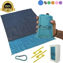 TheCozy Adventures Sand Free Compact Beach Blanket - Outdoor Multiple Use - $16.44