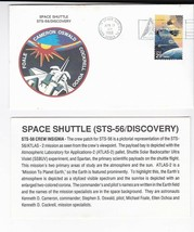 STS-56 DISCOVERY KENNEDY SPACE CENTER FL APRIL 17 1993 WITH INSERT CARD - $1.78