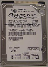 "New HTS721060G9AT00 7200RPM Hitachi 60GB IDE 44PIN 2.5"" 9.5MM hard drive"