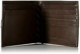 Tommy Hilfiger Men's Leather Credit Card Wallet Billfold Brown 5673-02 image 3