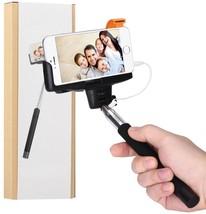 Selfie Stick, nilogie Plug-N-Snap Self Portrait Extendable Handheld Mono... - €47,27 EUR