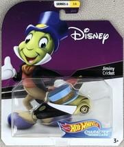 "2020 Hot Wheels DISNEY Character Car JIMINY CRICKET - ""Pinocchio"" Series 6 - $14.95"