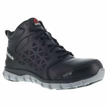 Reebok Men'S Sublite Work Boot Alloy Toe Black 9.5 Ee - $147.72