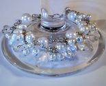 Bracelet white pearls crystals azure beads thumb155 crop