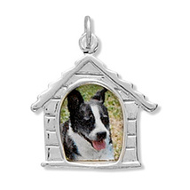 Dog House Picture Frame Silver Charm - €22,71 EUR