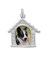 Dog House Picture Frame Silver Charm - $26.95