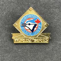 VINTAGE 1993 MLB TORONTO BLUE JAYS WORLD SERIES BASEBALL PRESS PIN - $19.98