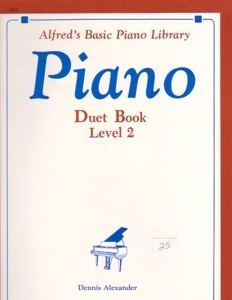 Alfred's Basic Piano Library Piano Duet Book Level 2