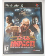 Playstation 2 - TNA IMPACT! (Complete with Manual) - $12.00