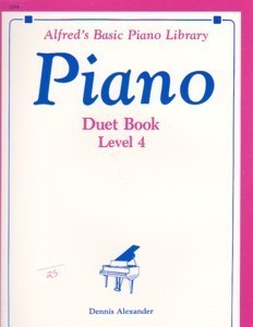 Alfred's Basic Piano Library Piano Duet Book Level 4