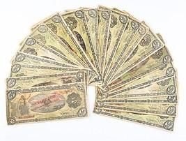 1914 México REVOLUTION 5 PESOS notas LOTE (20) F-VF GOBIERNO PROVISIONAL P# - $154.92
