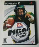 NCAA Football PS2 Playstation 2 Game (2002 Electronic Arts) 2003 - $5.89
