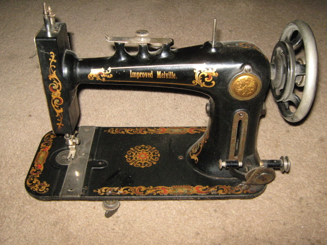 National Sewing Machine Co. Hand Wheel w/ Stop Motion Knob & Washer