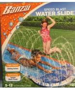 Banzai speed blast water slide high speed action slide 16 foot long new - $19.34