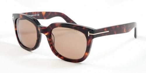 8366ccdb36 New Tom Ford Sunglasses Campbell FT TF 198 56J Tortoise Frames Brown Lens  53MM -  79.19