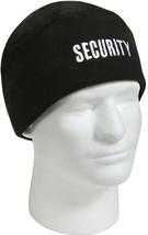 Black Security Polar Fleece Beanie Law Enforcement Watch Cap - $8.99