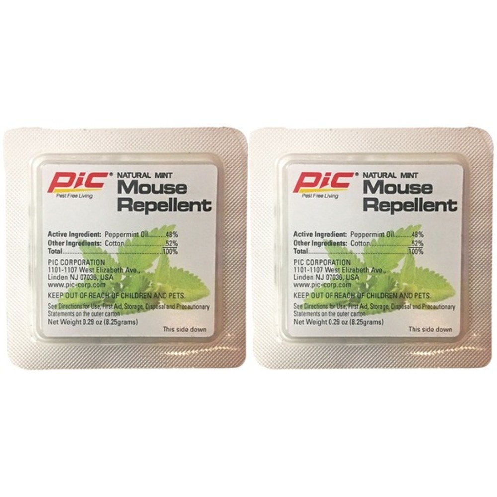 Primary image for PIC MR-2 Natural Mint Mouse Repellent, 2-Count
