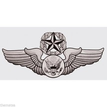 Air Force Chief Aircrew Enlisted Wing Military 5.25 Inch Decal Sticker - $15.33