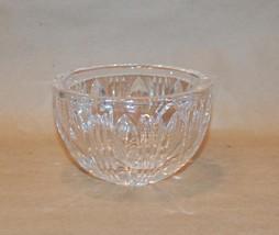 """Kosta Sweden Vintage Heavy Crystal Vertical Fluted Bowl 4 1/2"""" Diameter - $45.00"""