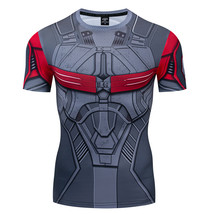 Sam Wilson Falcon Avengers Compression Fitted T-Shirt - $22.99