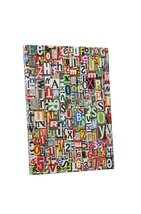 """Pingo World 1218PYA677G """"Pop 'Newspaper Clippings'"""" Gallery Wrapped Canv... - $42.52"""
