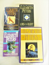 Elizabeth Peters – 4 Mystery/Suspense Fiction Novels – 1 HC+ 3 Paperback... - $6.65