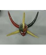 Vejigante Mask Ponce Puerto Rico Carnival Festival Paper Mache Devil Dem... - $210.38