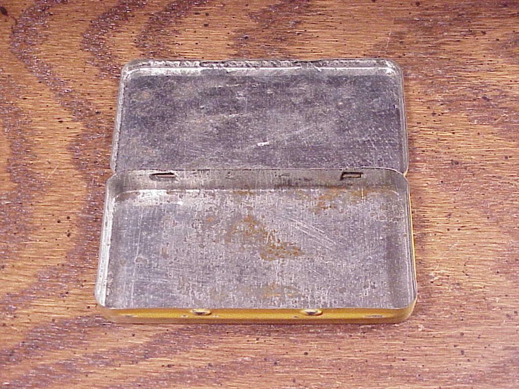Vintage Nyal Figsen Laxative Metal Tin, no. D-51