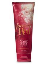 BATH & BODY WORKS Forever Red 8.0 Ounces Body Cream - $15.18