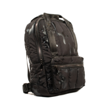 Black Camouflage Ultra Light Backpack, Woman Backpack, School Bag - $26.75