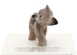 Hagen-Renaker Miniature Ceramic Wildlife Figurine Elephant Cartoon Baby image 2