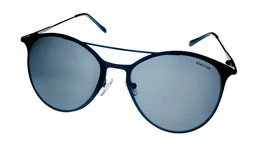 Kenneth Cole Reaction Mens Black Sunglass Round Metal Smoke Lens KC1353. 1A - $17.99