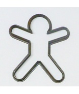 Star Jump Jumping Jack Gingerbread Man Christmas Cookie Cutter USA PR2148 - $1.99