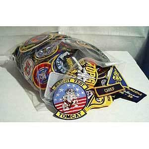 Primary image for US Navy & Ship Wholesale Grab Bag 100PCS Mix Patches