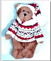 """Boyds Bear """"Edmund""""  8"""" Plush Bear - #9175-02 ~NWT -Fall 1994 - Retired - $59.99"""