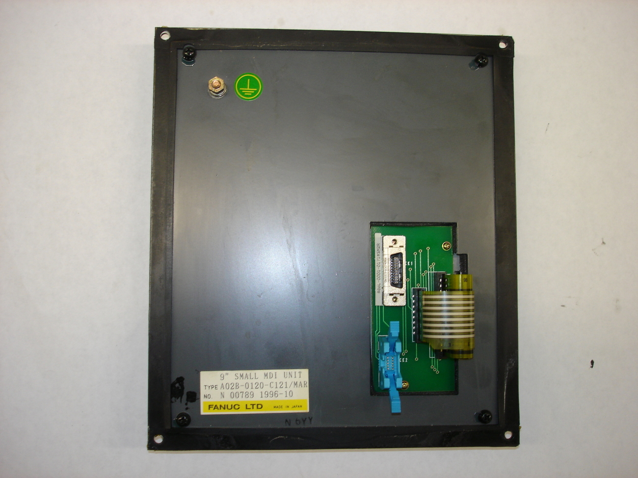"Fanuc 9"" Small MDI Unit A02B-0120-C121"