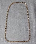 "Sold to GuysGifts Napier Gold Tone  24"" Vintage Necklace - $8.00"