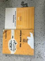 1986 TOYOTA VAN Service Repair Shop Workshop Manual OEM Set W EWD  - $89.09