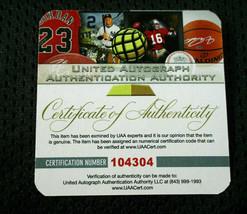 MICAHEL JORDAN / NBA HALL OF FAME / AUTOGRAPHED CHICAGO BULLS CUSTOM JERSEY COA image 7